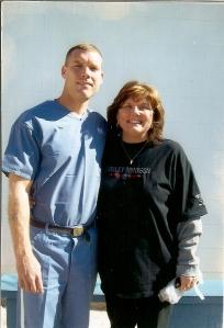 Chris and Mom 2009