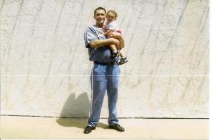 Jordan Thomas Richter with niece